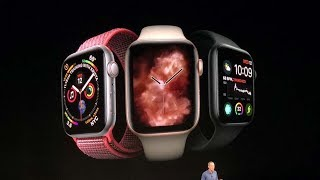 Apple Watch Series 4 launched with new health features | Apple Launch Event