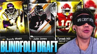 THE BLINDFOLD DRAFT! YOU HAVE TO SEE WHO WE MISSED.. Madden 19 Draft Champions
