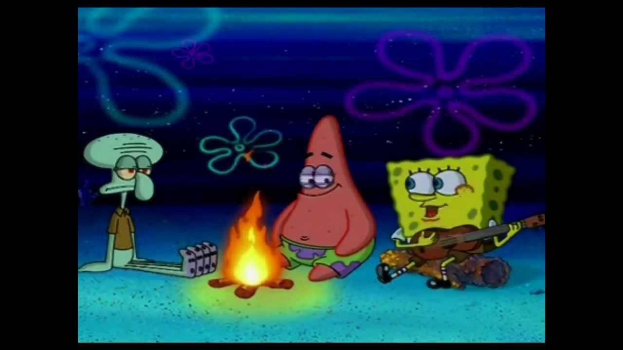 Campfire Song Spongebob