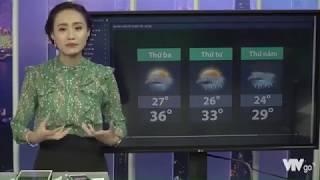 Dự Báo Thời Tiết VTV Hôm Nay Ngày Mai 24/5/2017 Tại Miên Bắc, Trung ,Nam - BTV Xuân Anh Livestream