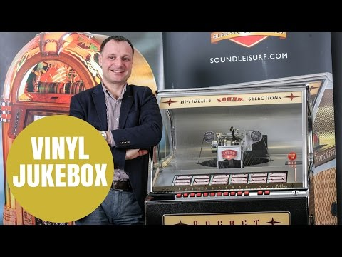 A manufacturer to become the only company in the WORLD to be producing a vinyl jukebox.