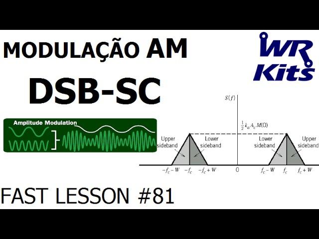 MODULAÇÃO AM DSB (PORTADORA SUPRIMIDA) | Fast Lesson #81