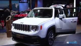 Jeep Renegade en el Salón de París 2014