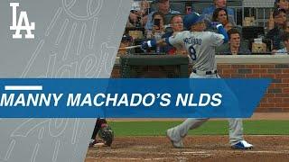 Manny Machado leads Dodgers in NLDS
