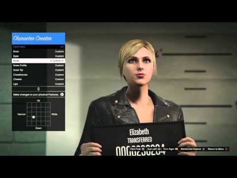 Ps4 gta online create a cute female character musica movil gta v character creation presets voltagebd Images