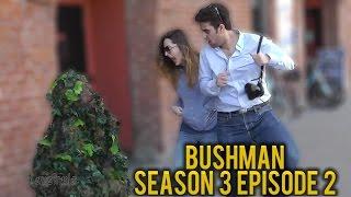 BUSHMAN PRANK | Bush Man Scare Prank #302 | San Francisco | Ryan Lewis Pranks