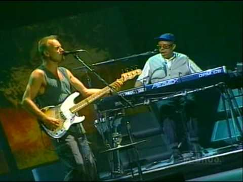 Sting - I Hung My Head  - Live 1996