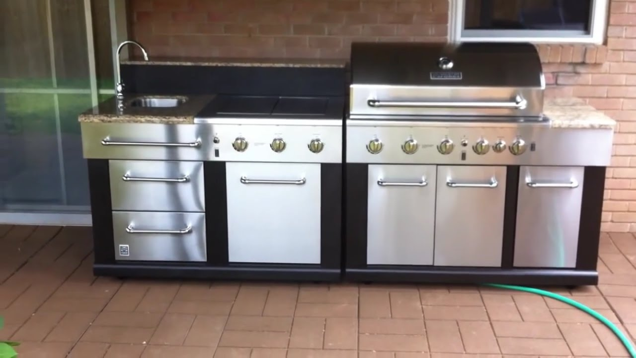 Master Forge Modular Gas Grill Youtube