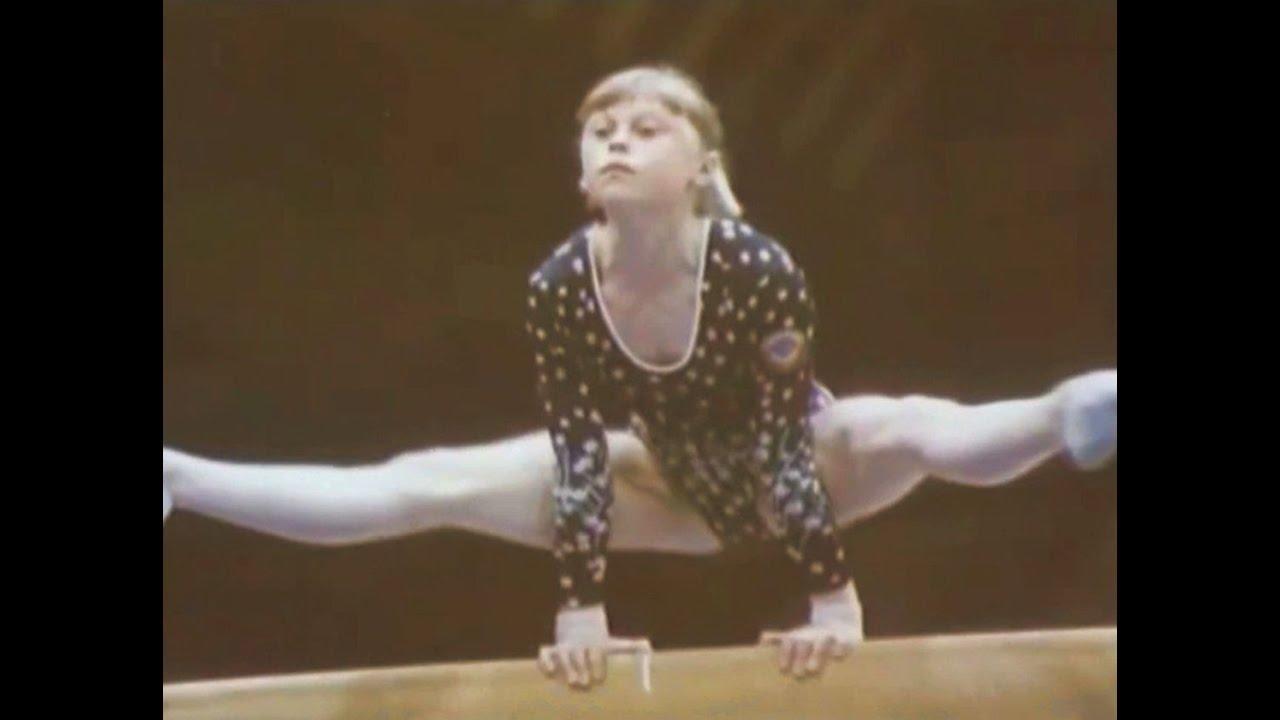 Elena Mukhina: Profiles in Olympic Courage - YouTube