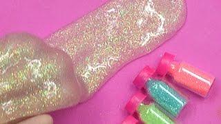Cách Làm Slime Kim Tuyến Các Màu Cực Đẹp