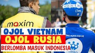 Maxim Rusia & FastGo  VietnamTantang Grab & Gojek