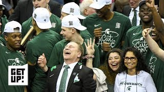 Michigan State's mental toughness key to Final Four berth - Tom Izzo   Get Up!