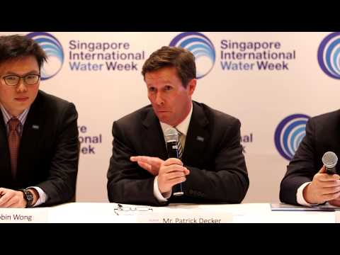 Xylem Press Conference at Singapore International Water (SIWW) 2014