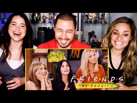 FRIENDS: THE REUNION   HBO Max   Trailer Reaction!