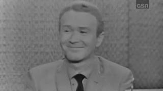What's My Line? - Red Buttons; Martin Gabel [panel] (Aug 12, 1962)