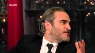 Joaquin Phoenix on David Letterman Full Interview