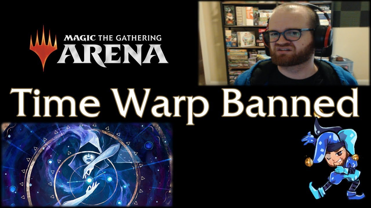 Time Warp Banned in Historic on Magic Arena