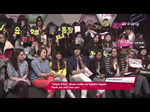 Simply K Pop Ep105 Yery Band GOT7 SPEED C-Clown BTS ZHOUMI Park Ji Yoon