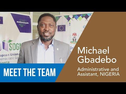 Michael Gbadebo - Assistente in Finanze ed Amministrazione