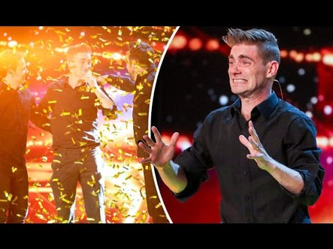 The FUNNY Magician get GOLDEN BUZZER Britain's Got Talent 2017