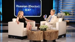 Ellen and Kate McKinnon Play 'Heads Up!'