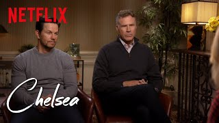 One Word Answers with Will Ferrell and Mark Wahlberg | Chelsea | Netflix