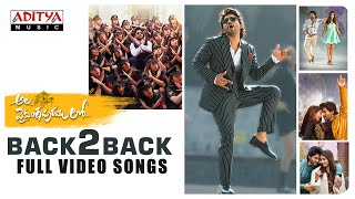 #AlaVaikunthapurramuloo - Back to Back Full Video Songs   Allu Arjun   Trivikram   Thaman S  #AA19