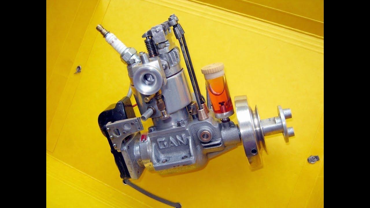 15cc 4 Stroke Rc Engine Gas Not Nitro Youtube