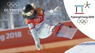 Chloe Kim hits Back-to-back 1080s to win Gold in Women's Halfpipe | Snowboard | PyeongChang