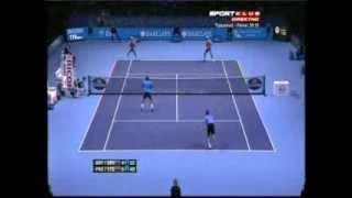 Bryan, Bryan vs Paes, Stepanek - ATP Masters Cup London 2012. Highlights (bojan svitac)
