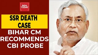 Actor Sushant's death case: Bihar CM recommends CBI probe..