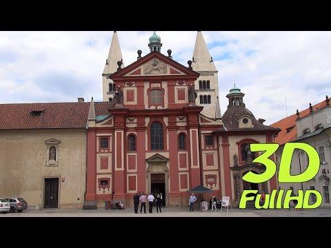 [3D] St. George's Basilica, Prague, Czech Republic / Bazilika Sv. Jiří, Praha, Česko