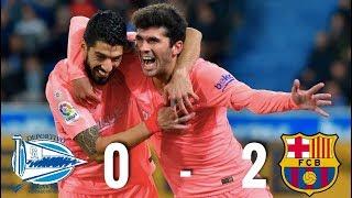 Deportivo Alaves vs Barcelona [0-2], La Liga 2019 - MATCH REVIEW