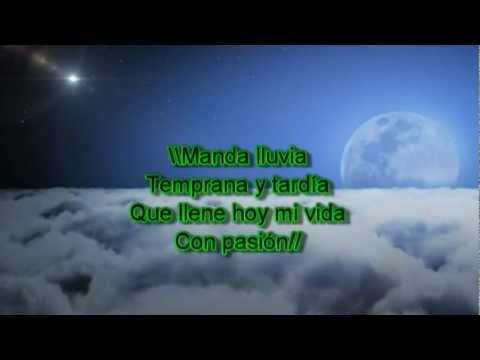 Marco Barrientos - Manda Lluvia (con letra)
