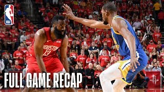 WARRIORS vs ROCKETS | Harden Drops 41 in OT Thriller | Game 3