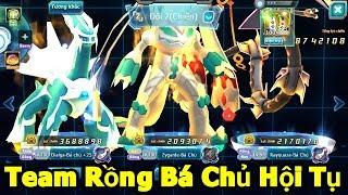 Bộ 3 Pokemon Bá Chủ Hệ Rồng: Kết Hợp Với Nhau Đánh Bại Team Hơn Lực Chiến VIP Cao - Game THeory