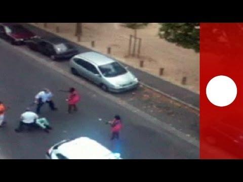 Bavure à Joué-lès-Tours ? Arrestation musclée d'une femme ayant mordu un policier (video amateur)