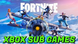 Fortnite:Battle Royale XBOX ONE PLAYING with Subscribers (Fortnite Livestream)