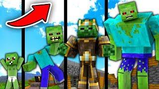 NẾU ZOMBIE CÓ CUỘC SỐNG TRONG MINECRAFT !!!! (Minecraft Người Trông Trẻ)