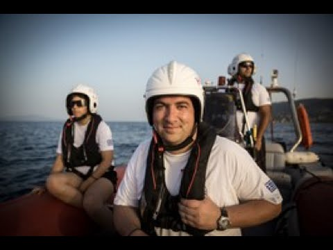 Greek volunteer sea rescue team - joint winners Nansen Refugee Award 2016