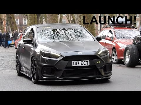 Modified Cars Accelerating Out Of A Meet - Launches & more!