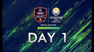 FIFA Online 4 EACC Spring 2019 Day 1