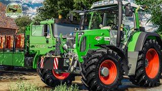 LS19 ACKERLÄNDLE #1: Das Ländle am Morgen - Lieferung, Schnitt und Rettungswagen | FARMING SIMULATOR