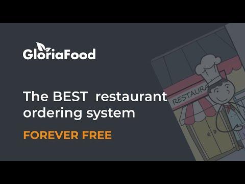 Free restaurant food ordering system