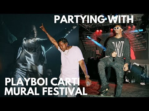 PARTYING WITH PLAYBOI CARTI AT MURAL FESTIVAL + more