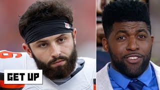 Baker Mayfield begging fans to be quiet while on offense is hilarious -Emmanuel Acho   Get Up