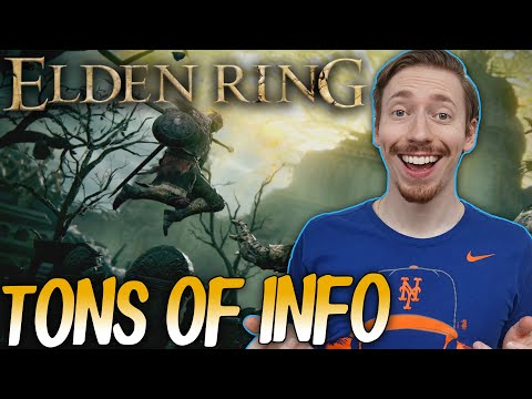 Elden Ring Just Got A TON Of Info - NEW Gameplay, Story Details, Online Co-Op, & MORE!