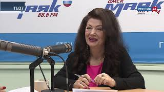 Интервью на Маяке Лариса Белобородова