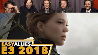 Death Stranding - Easy Allies Reactions - E3 2018
