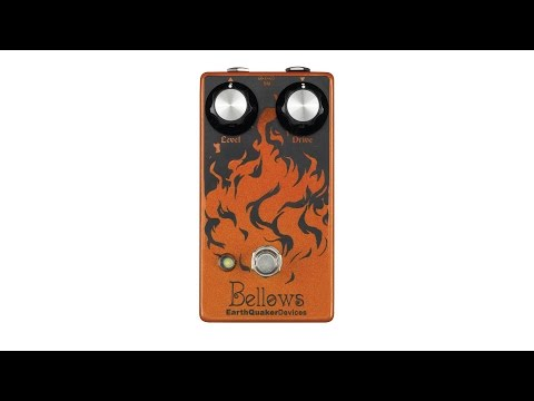 EarthQuaker Devices Bellows Fuzzdriver Pedal